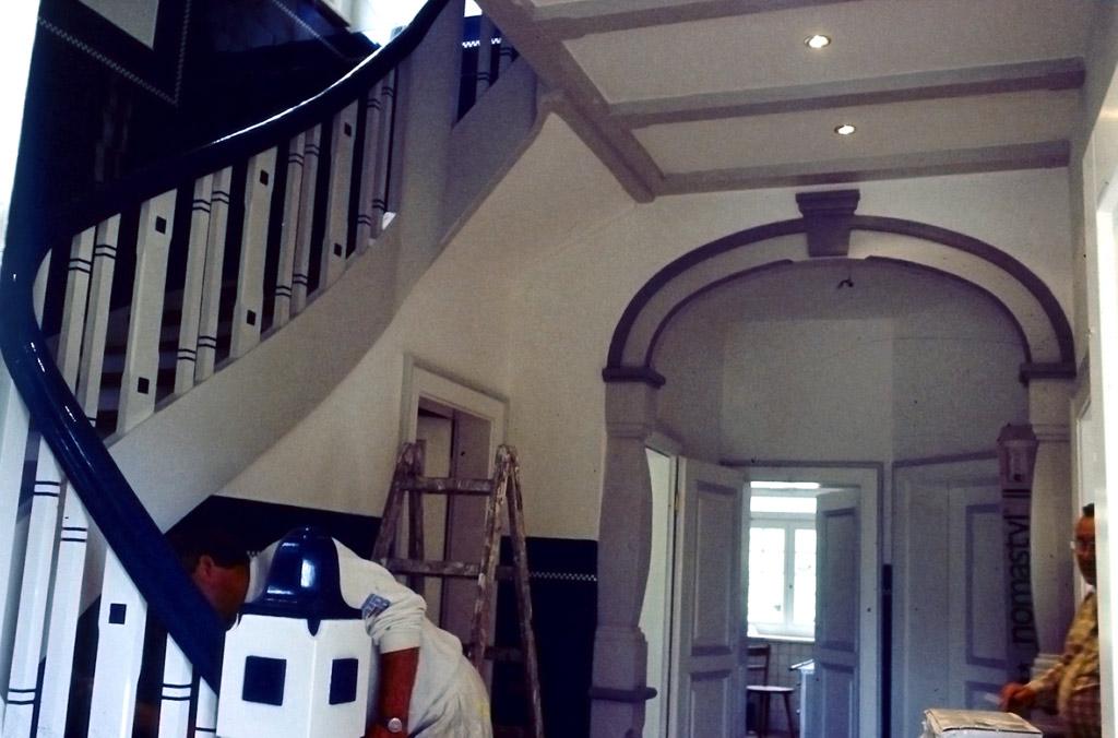 Renovierung Einer Villa In Hohenstadt Malerbetrieb Schmelzing
