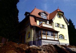 Renovierung einer Villa in Hohenstadt